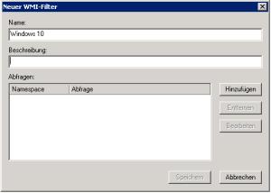 Einfache Administration durch WMI-Filter | miriamxyra