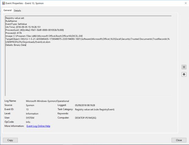 Detecting Emotet using Windows Event Logs | miriamxyra